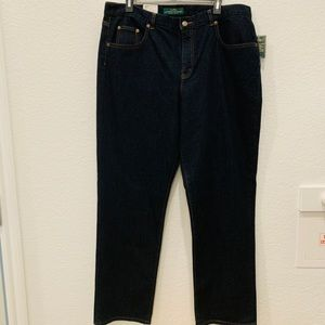 NEW Ralph Lauren plus size blue denim in size 14W